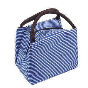 Modische kleine Kühltasche in Blau 5L Kühlbox Thermotasche Isoliertasche Lunchtasche Camping