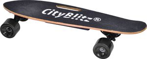 CITYBLITZ CB013 E-Skateboard (Schwarz)