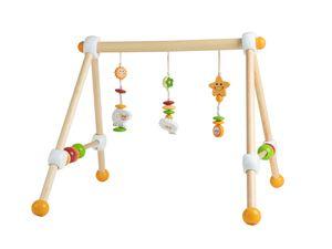 Bieco Spieltrapez   Spielbogen Baby Holz mit Schaf Figuren & Kugeln   Spielebogen Holz Baby   Spieltrapez Holz   Baby Mobile Holz   Activity Center Baby Gym   Holzspielzeug Baby   Baby Spielzeug