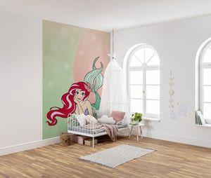"""Komar Vlies Fototapete """"Ariel Pastell"""" - Größe: 200 x 280 cm (Breite x Höhe), 4 Bahnen"""
