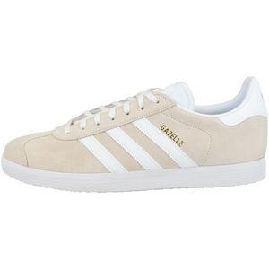 adidas Originals Vintage-Sneaker Gazelle sportliche Schuhe für Damen und Herren Beige, Größe:44