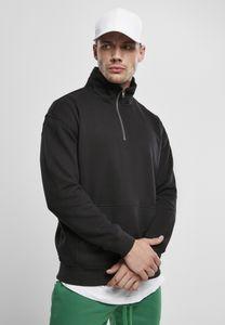Urban Classics Sweatshirt Organic Basic Troyer Black-5XL