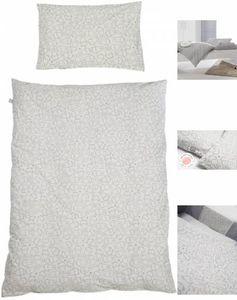 Roba betttextil Miffy junior 135 x 100 cm Baumwolle grau 2-teilig