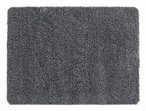 Fußmatte Baumwolle 40 x 60 cm Grau waschbar Schmutzfangmatte Fußabtreter Türmatte
