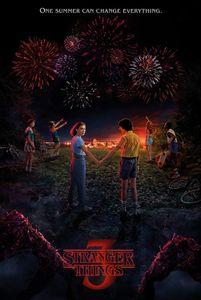 Stranger Things Poster - 3, Ein Sommer Kann Alles Verändern (91 x 61 cm)
