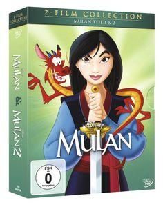 Mulan 1+2, Doppelpack DVD