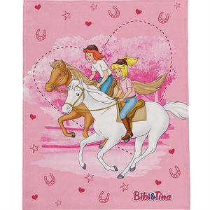 Bibi und Tina Freunde Decke 130x170