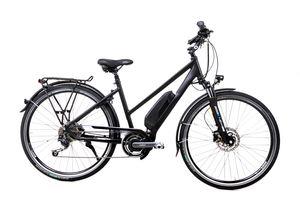 28 Zoll Alu Elektro Fahrrad Damen Trekkingbike Pedelec Shimano Steps 500Wh Disc
