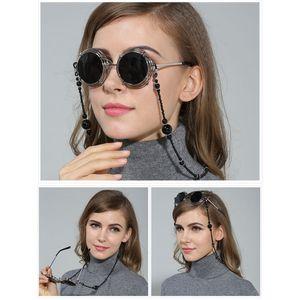 2 Stück Brillenhalter Zarte Perlen Brillenketten Brillenhalter Halskette Umhängeband