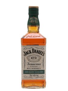 Jack Daniel's Tennessee Straight Rye Whiskey | 45 % vol | 0,7 l