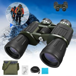 60x50 Fernglas Feldstecher Tag und Nacht Binoculars Zoom Fernrohr mit Tasche