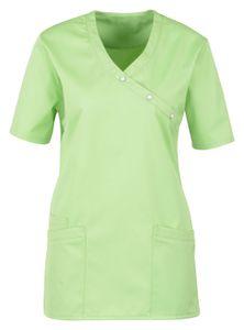 Größe L beb Damen Kasack Schlupfkasack Kurzarm Grün 50 % Baumwolle 50 % Polyester