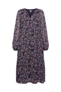 EDC Women Kleid, Farbe:NAVY 4, Größe:42