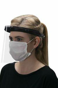 Gesichtsschutz mit Visier Spuckschutz Mundschutz