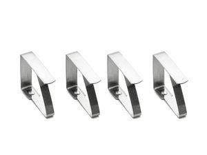 Edelstahl Tischtuchklammern Tischdeckenhalter Tischdeckenklemme Tischklammern