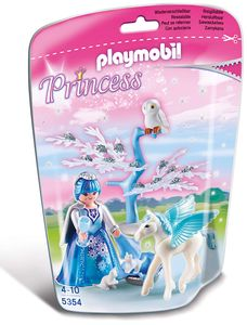 PLAYMOBIL 5354 Princess - Winterkönigin mit Pegasus
