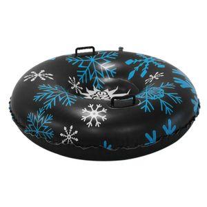 47'' Aufblasbare Schlitten für Erwachsene, Schwerlast Aufblasbare Snow Tube mit Griffen, Kratzfest, Frostbeständig, Ideal für den Winter Outdoor-Spaß