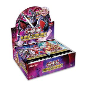 Yu-Gi-Oh! 24 Booster Display - King's Court - 1. Edition English Cards - sealed box