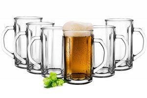6 Bierseidel 500ml Biergläser Bierkrüge Bierglas Pilsgläser Bierglas Gläser