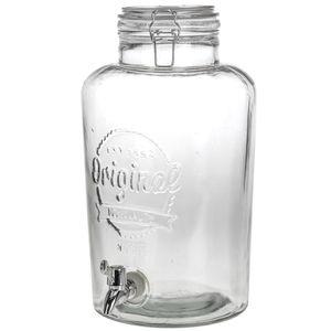 Getränke-Spender mit Hahn & Deckel Geschenk-Box 8 Liter