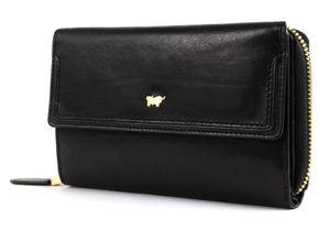 Braun Büffel Venice Zip-Wallet L Black