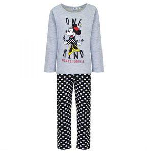 Disney Minnie Schlafanzug, grau-schwarz, Gr. 98-128 Größe - 6 Jahre