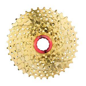 Premium 9 fach Fahrrad Kette Kassette Schraubkranz mit Freilauf 11-36 Zähne