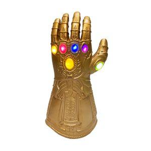 Kinder Thanos Infinity Handschuh Infinity Krieg mit LED Licht Gummi Latex