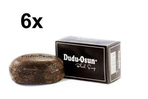 Dudu Osun Schwarze Seife Black Soap 6 x 150 g