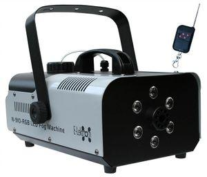 E-Lektron N-910-RGB Nebelmaschine 900W mit LED-Beleuchtung und Funk-Fernbedienung