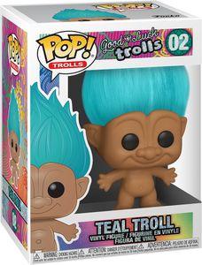 Good Luck Trolls - Teal Troll 02 - Funko Pop! - Vinyl Figur