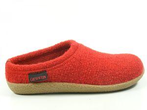 Giesswein 52-10-47848 Veitsch Damen Herren Hausschuhe Pantoffeln , Schuhgröße:39, Farbe:Rot