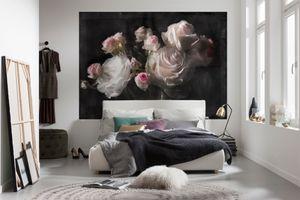 """Komar Fototapete """"Eternity"""", bunt, Rosenknospen, 254 x 184 cm"""