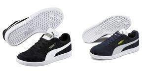 PUMA Icra Trainer SD Jr Kinder Low Boot Sneaker Schwarz-Weiss Schuhe, Größe:39