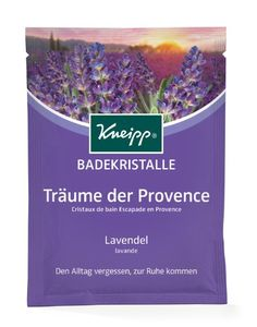Kneipp Badekristalle Träume der Provence, 6er Pack (6 x 60 g)