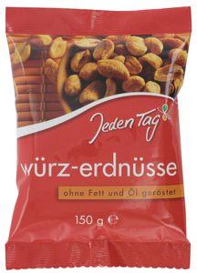Jeden Tag Würz-Erdnüsse (150 g)