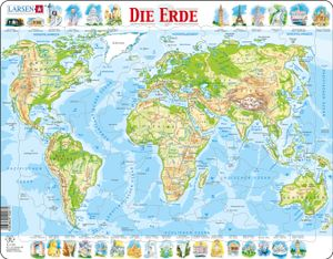 Larsen Puzzle - Die Erde 80-tlg physisch