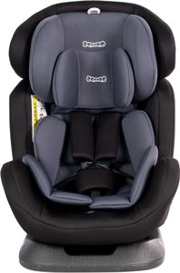Booboo Fino Kinderautositz und Reboarder für alle Altersklassen - Gruppe 0+/1/2/3 (0-36 Kg) Nero