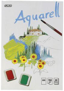 Herlitz Aquarellblock 210 x 298 mm Inhalt: 20 Blatt