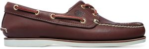 Timberland Classic Boat Sneaker Bootsschuhe Mokassin Verschiedene Farben, Schuhgröße:Eur 43; Farbe:Dunkelbraun