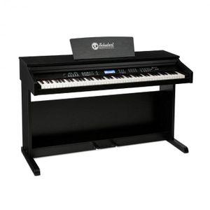 Schubert Subi 88 MK II Keyboard E-Piano Digitalpiano - 88 anschlagsdynamische Tasten , 360 Klangfarben , 160 Rhythmen , 80 Demosongs , Line-Ausgang, USB-Eingang, MIDI IN/OUT und MIDI USB , schwarz