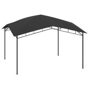 Outdoor Pavillon UV-Schutz Gartenzelt Partyzelt WASSERDICHT 4x4x2,9 m Anthrazit 180 g/m²