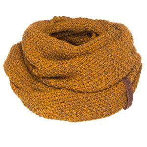 Knit Factory Coco Loop Schal - Ocker/Tobacco