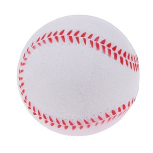 9 Zoll Sicherheit Kid Baseball Base Ball Übungstraining Soft PolyurethanChild Softball Farbe Weiß