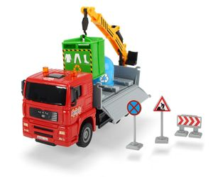 Dickie Toys - Spielfahrzeuge, Heavy City Truck, 4-sort.; 203744003