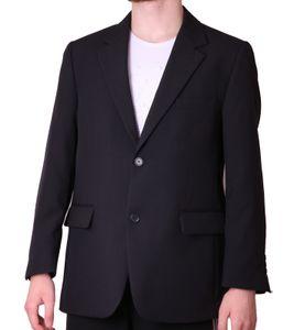 STUDIO COLETTI Anzugs-Jacke stilbewusstes Jackett Herren Sakko mit Pattentaschen Kurzgrößen Blau, Größe:62 (31 Kurzgröße)