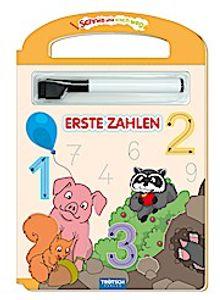 Schreib und Wisch Weg Erste Zahlen mit Stift: 24 Seiten (Schreib und Wisch Weg Lernhefte, Band 1)