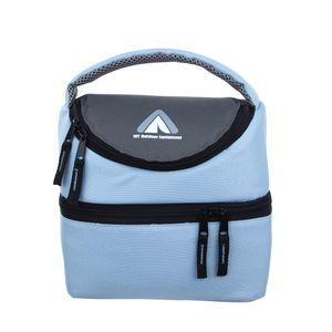 10T Fridgo Bag 5 - Kühltasche mit 5L Volumen, faltbare Thermotasche, passive Kühlbox, Kühlkorb mit 2 Fächern,