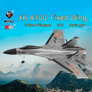 Original WLtoys XK A100 2.4G 340mm 3CH RC Flugzeug Feste Flš¹gel Flugzeug Flugzeuge Outdoor Spielzeug