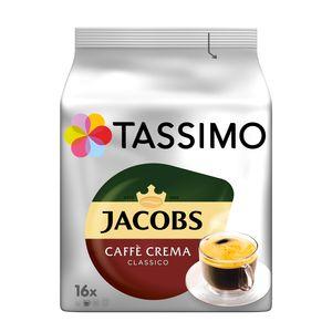 Tassimo Jacobs Caffè Crema Classico | 16 T Discs, Kaffeekapseln